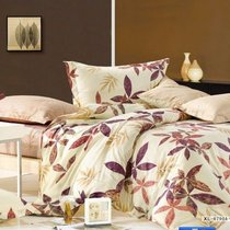 Комплект постельного белья C-85, цвет бежевый, размер 1.5-спальный - Valtery