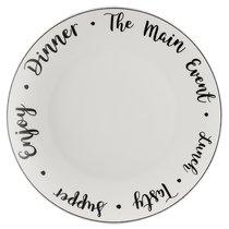 Тарелка обеденная Carnaby Script D 26,5 см - Price & Kensington