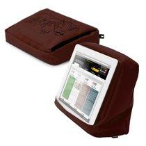 Подушка-подставка с карманом для планшета Hitech 2 тёмный школад черный - Bosign