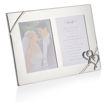 "Рамка для фото двойная Lenox ""Настоящая любовь"" 32Х23см - Lenox"