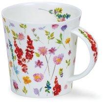 """Кружка Dunoon """"Красивые цветы. Кернгорм"""" 480мл (красная) - Dunoon"""