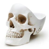 Органайзер для мелочей Skull, белый - Suck UK