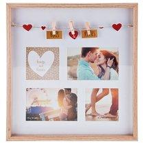 Фоторамка Семейная На 4 Сюжета 34,8x36,8x3 см - Polite Crafts&Gifts