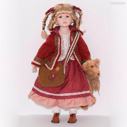 Кукла фарфоровая Моник 66 см - Top Art Studio
