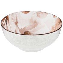 Салатник-Тарелка Суповая Aquarelle 16 См Коричневый, цвет коричневый - Lianjun Ceramics