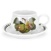 """Чашка чайная с блюдцем Portmeirion """"Помона.Груша"""" 200мл - Portmeirion"""