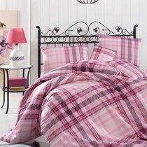 Постельное белье Ranforce Aliz, цвет розовый, размер Евро - Altinbasak Tekstil