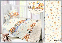 CДA-10-033/KT-109 Любимые с детства КПБ Детский в кроватку Сатин АльВиТек - АльВиТек
