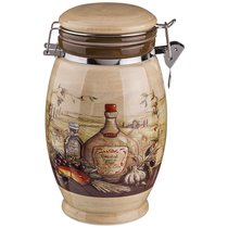 Емкость Для Сыпучих Продуктов Сицилия 1100 млВысота 20 см - Huachen Ceramics