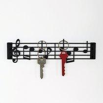 Держатель для ключей Musik, цвет черный - Balvi