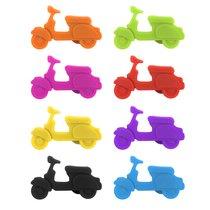 Маркеры для бокалов Scooter 8шт., цвет разноцветный - Balvi