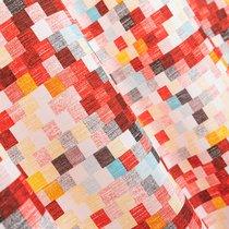 Ткань лонета Свайп ширина 280 см/ 3075, цвет красный - Altali