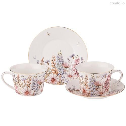Чайный Набор Lefard Дворцовый Парк 260 мл 4 Пр. На 2 Пер. - Kingensin Porcelain Industrial