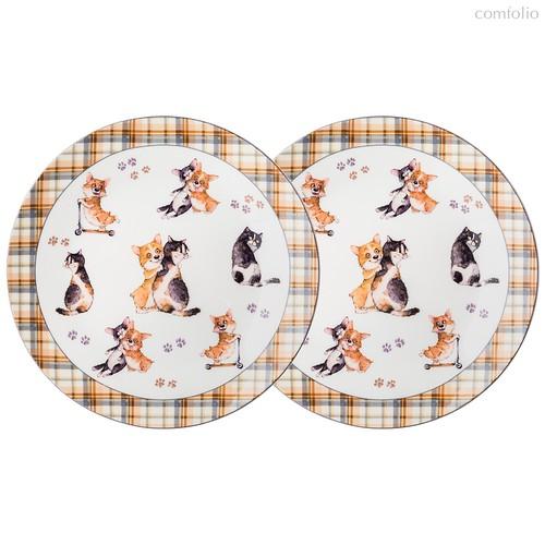 Набор Тарелок Закусочных Lefard Лучшие Друзья 2 Шт. 23 см - Jinding