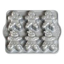 """Форма для выпечки 6 кексов 3D Nordic Ware """"Пряничные человечки"""" 1,1л, 31х25см - Nordic Ware"""