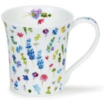 """Кружка Dunoon """"Красивые цветы. Джура"""" 210мл (голубая) - Dunoon"""