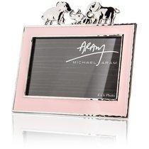"""Рамка для фото Michael Aram """"Слоники"""" 10 х 15см (розовая эмаль) - Michael Aram"""