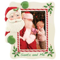 """Рамка для фото Lenox """"Дед Мороз"""" 24см - Lenox"""
