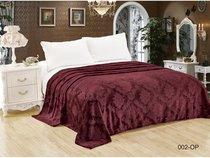 """Плед Cleo """"ПАРМА"""" велсофт евро 200*220 200/002-OP, цвет коричневый, 200 x 220 - Cleo"""