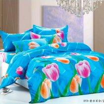 Восьмое марта - комплект постельного белья, Евро - Valtery