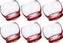 Набор стаканов из 6 шт. CRAZY 390 мл ВЫСОТА=9 СМ. (КОР=1Набор.) - Crystalex