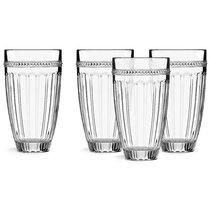 """Набор из 4 стаканов для воды """"Французский жемчуг"""" - Lenox"""