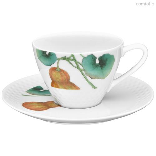 """Чашка чайная с блюдцем Noritake """"Овощной букет.Тыква"""" 210мл - Noritake"""