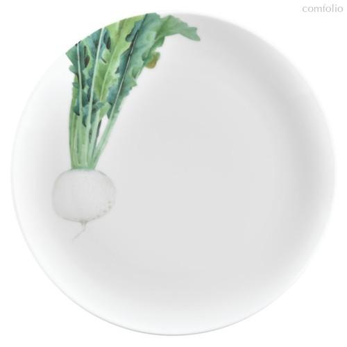 "Тарелка закусочная Noritake ""Овощной букет"" ""Редька"" 24см, 24 см - Noritake"
