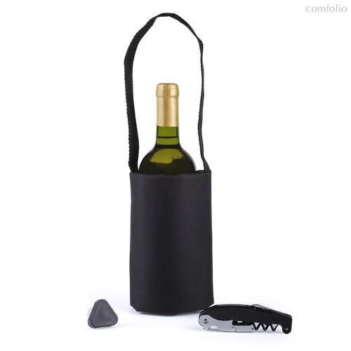 Набор для вина Picnic черный, цвет черный - Koala