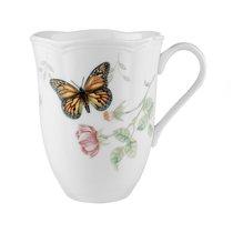 """Кружка Lenox """"Бабочки на лугу.Бабочка-Монарх"""" 350мл - Lenox"""