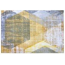 "Дорожка на стол ""Кастанеда"", P498-1917/1, 40х140 см, цвет серый - Altali"