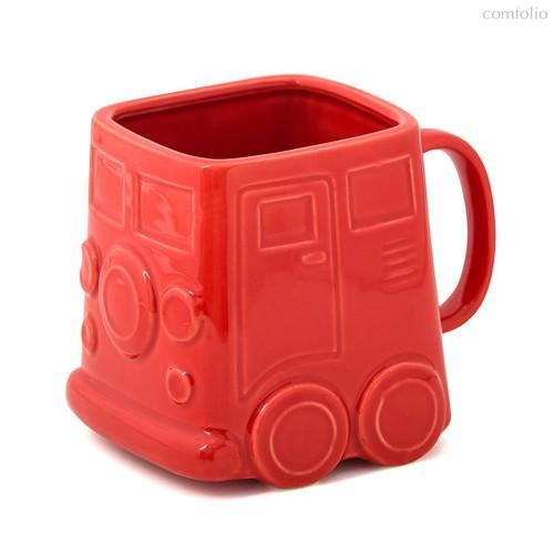 Кружка Van красная, цвет красный - Balvi