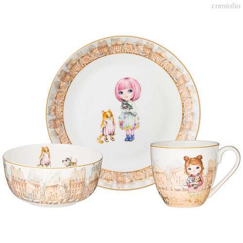 Набор Посуды Обеденный Lefard Fashion Princess 3 Пр. - Jinding