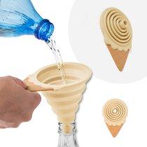 Воронка для бутылки Gelato ваниль магнитная, цвет бежевый - Balvi