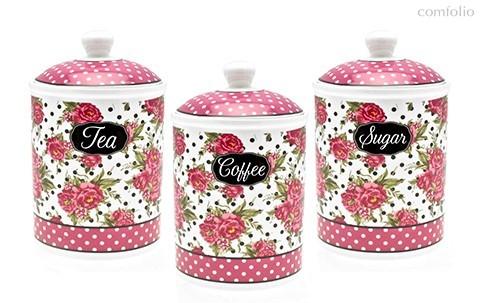 Джесси Стил Емкость для чая/кофе/сахара 18см - The Leonardo Collection