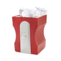 Корзина для бумаг Sharpener красная, цвет красный - Balvi