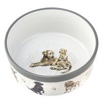 "Миска для собаки Royal Worcester ""Забавная фауна"" 20см, костяной фарфор - Royal Worcester"