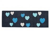 FEEL Mavi (голубой) Коврик для ванной, цвет голубой, 50x90 - Irya