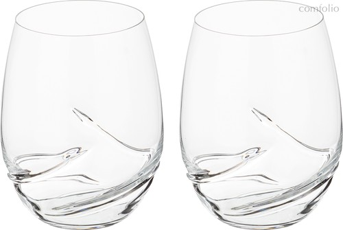 Набор стаканов из 2 шт. TURBULENCE 500 мл ВЫСОТА 12 см (КОР 24Набор.) - Crystalex