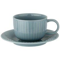 Чайный Набор На 1Пер. 2Пр. Majesty 220 мл Голубой, цвет голубой - Shunxiang Porcelain