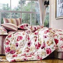 Комплект постельного белья С-135, цвет розовый, размер 1.5-спальный - Valtery