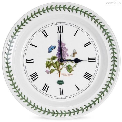 """Часы настенные Portmeirion """"Ботанический сад. Сирень"""" 25см - Portmeirion"""