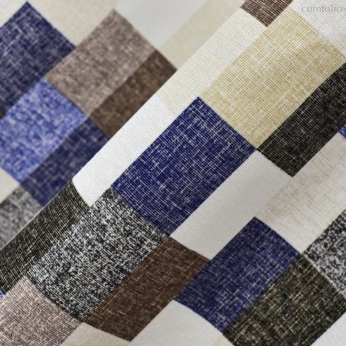 Ткань лонета Сити ширина 280 см/ 2145, цвет синий - Altali