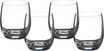 Набор стаканов ДЛЯ ВИСКИ из 4 шт. БАР 300 мл ВЫСОТА 10 см (КОР 12Набор.) - Crystalex