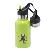 Детская термос-фляга TEMPflask™ Monkey 0.35л лайм, цвет лайм - Carl Oscar