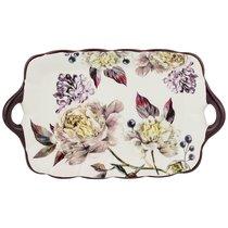 Блюдо Пурпур 23,5x14 см Высота 2,5 см - Huachen Ceramics