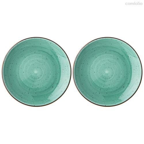 Набор Из 2 Тарелок Пирожковых Bronco Nature 17 см Мятный - Porcelain Manufacturing Factory