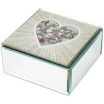 Шкатулка Коллекция Heart 12x12x6 см - Dalian