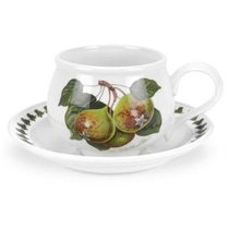 """Чашка для завтрака с блюдцем Portmeirion """"Помона.Груша"""" 270мл - Portmeirion"""