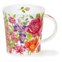 Кружка Dunoon Розовые цветы. Ломонд 320мл, фарфор - Dunoon